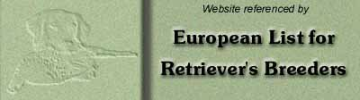 European List for Retrievers´s Breeders